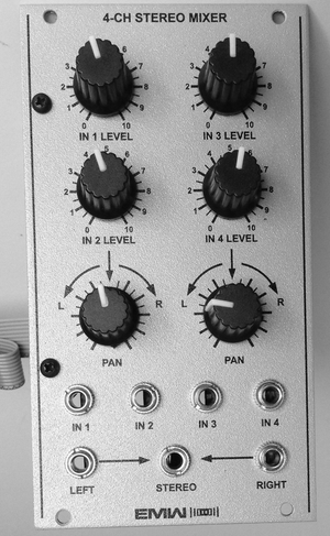 EMW 4-CHANNEL STEREO MIXER (EML 200)