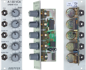 A131 EXPONENTIAL VOLTAGE CONTROLLED AMPLIFIER