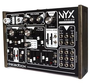 DREADBOX NYX SEMI-MODULAR ANALOGUE DESKTOP SYNTH