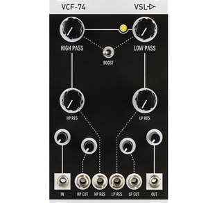 VINTAGE SYNTH LAB - VCF74 MKII