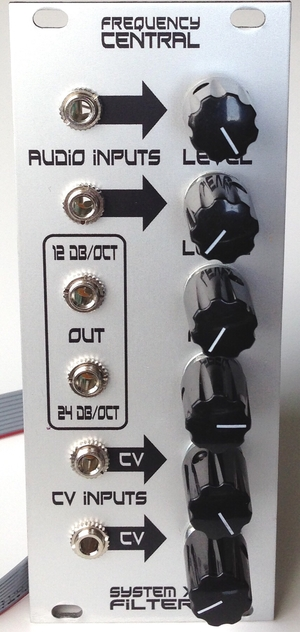 FREQUENCY CENTRAL SYSTEM X FILTER