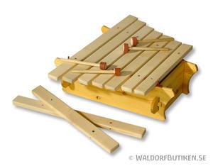 Musikinstrument: Amadinda 7 toner (XAM)