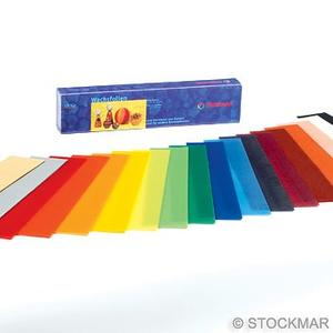 Bivaxfolier smala 18 färger