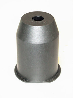 Holder for polish dispenser