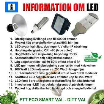 100 (2x50) Watt Power LED 230 VAC