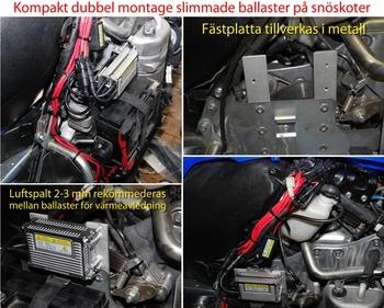 Ballast 35W slim 12-24V