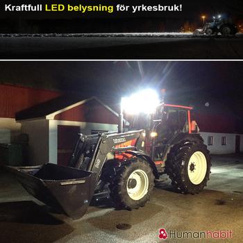 20W CREE LED extraljus valbar 15° och 90° 9-32V L0082