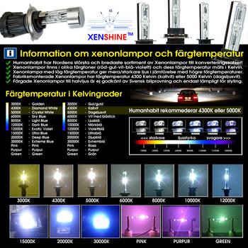 55w 12v Slim Xenonkit CNlight® märkeslampor