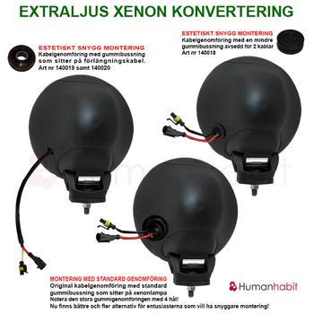 Xenonlampa Cnlight® 2pack 35w samt 55w
