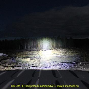 392W LED ramp Philips 4D optik COMBO fäste undertill