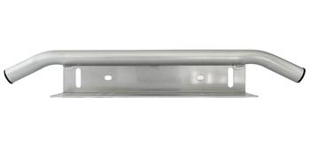 Universalfäste för 2 st extraljus eller ledramp förstärkt med rörbåge