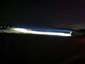 120W Laser Extraljus Extreme High Performance  Sanslösa 1 lux @ 2000 m (!)