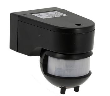 Rörelsesensor med inbyggd nattsensor max 1200 Watt för 230V 50-60 Hhz P-08