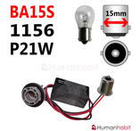 Ba15s & 1156 & P21W LED Dekoder Warning Canceller