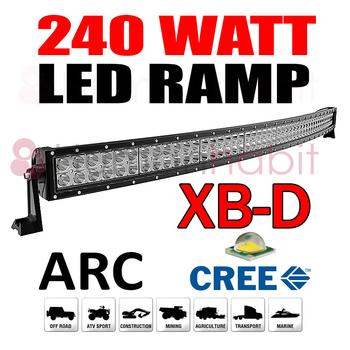 240W LED ramp CREE XB-D curved E-mark 1137 mm
