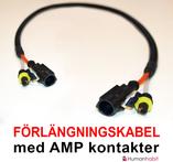 Förlängningskabel AMP kontakt