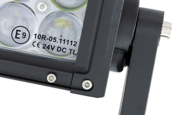 240W LED ramp Osram 4D optik E-mark EMC sidomonterad 1138mm