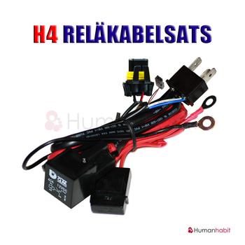 H4 bi-xenonkit XPU™ 12-24V Xenshine™ för 2 lampor