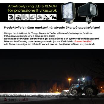 18W LED miniatyr 25° CREE XB-D 12-24V
