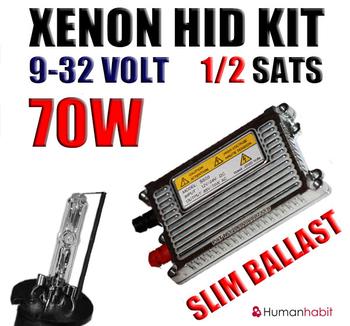 70w Slim ½ Xenonkit