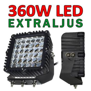 360W LED CREE extraljus Heavy Duty Extreme 4D optik 32400Lm 9-32V