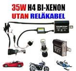 35w H4 Bi-Xenon Kit reläkabellös - Bil, MC