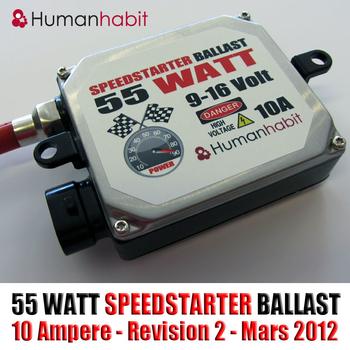 55w Bi-Xenon Speedstarter Kit