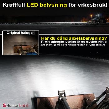 20W LED arbetsbelysning 90° CREE 12-24V E-märkt