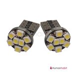 T10 Canbus med 8st 1210 SMD non-polarized