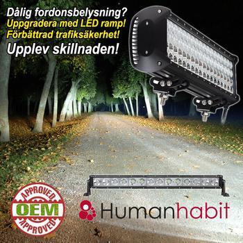 120W LED ramp CREE 8800 lumen 9-30V 628mm