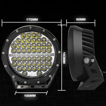 7 samt 9 tums LED extraljus  Extreme Series Philips COMBO  med DRL 9-32V
