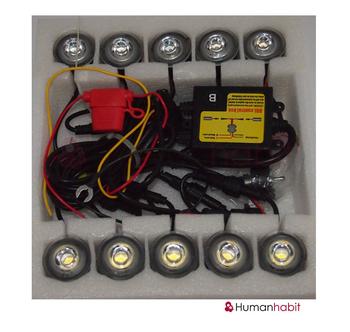 High power led DRL 1W*10(10W)