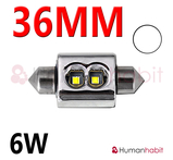 36mm spollampa Extreme 6W Canbus 2014 Vit