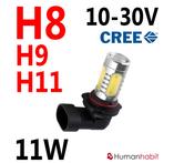 H11 11W non-polarized 10-30V