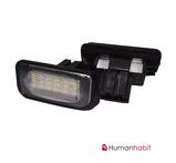 Benz W203 4D LED License Plate Lamp 9-30V