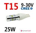 T15 CREE 25W - Senaste teknik! 9-30V