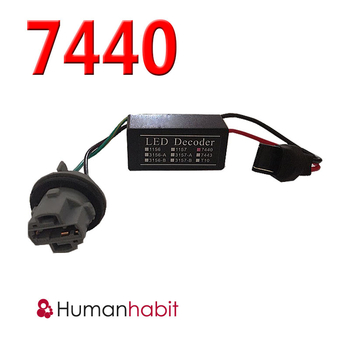 7440 LED Decoder Warning Canceller