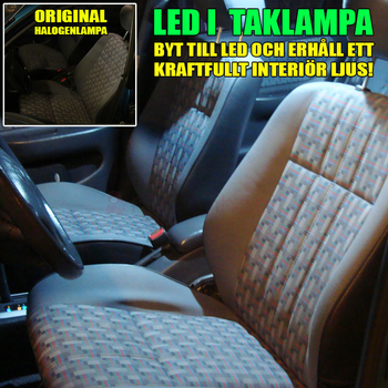 42mm spollampa Canbus med 3st 5050 SMD