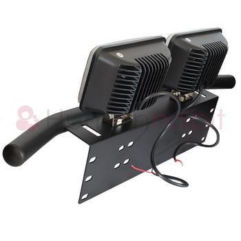 45W 4D optik LED extraljus 30° spot 12-24V