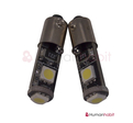 Ba9s Canbus med 3st 5050 SMD non-polarized