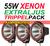Trepack 55W Xenon Extraljus  9-32V Röd