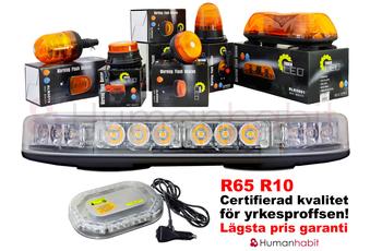 LED blixtljusramp 395mm ECE R10 R65 - BKL0003