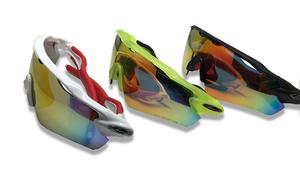 Sport Sunglasses with Interchange Lenses - 3 Colours