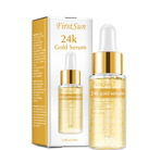 FIRST SUN 24K Gold Collagen Lifting Serum for Improving Skin  - Moisturizing - Firming Flexible - Anti Aging Anti Wrinkle