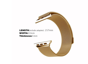 Milanese Loop Stainless Steel Apple Watch Band