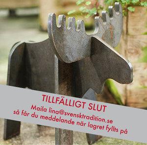 Älgen Ärling i stålplåt (STOR), numrerad