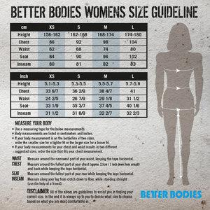 Better Bodies Womens Baseball Tee