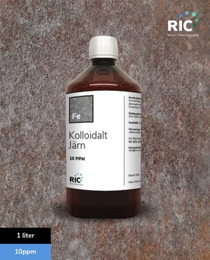 Kolloidalt Järn – 1 liter / 10ppm