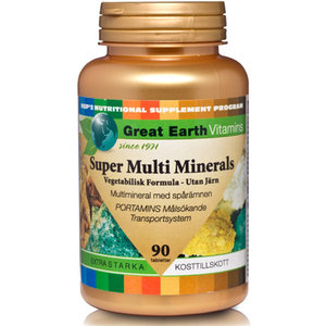 Great Earth Super Multi Minerals Extra Stark 90tab