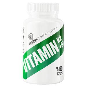 Swedish Supplements Vitamin K2 + D3 60 kap